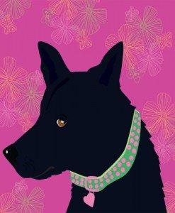 Dog Portriat by Tina Cash-Walsh
