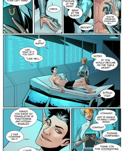 Digital Comic Page by Liz Coshow