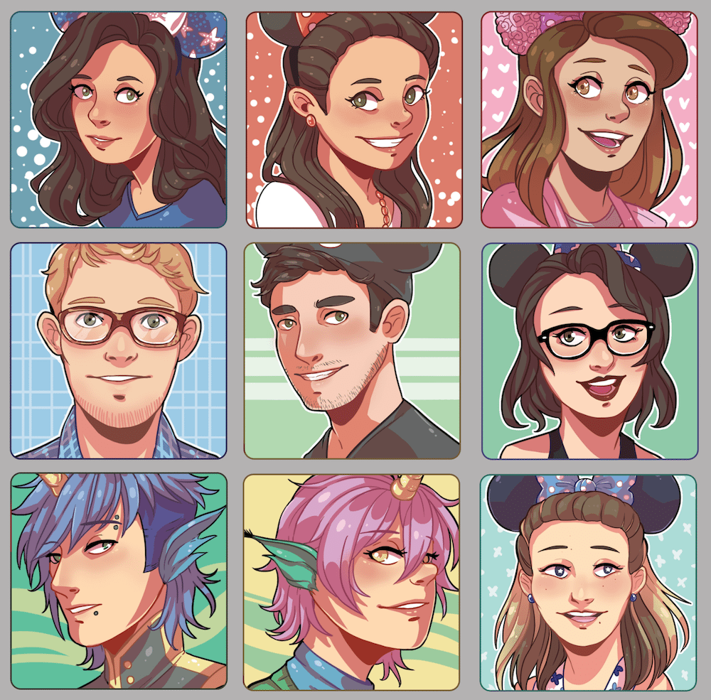 Icon Commission Samples by JWhitney