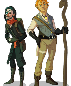 Original Character Designs by Kayla Snyder