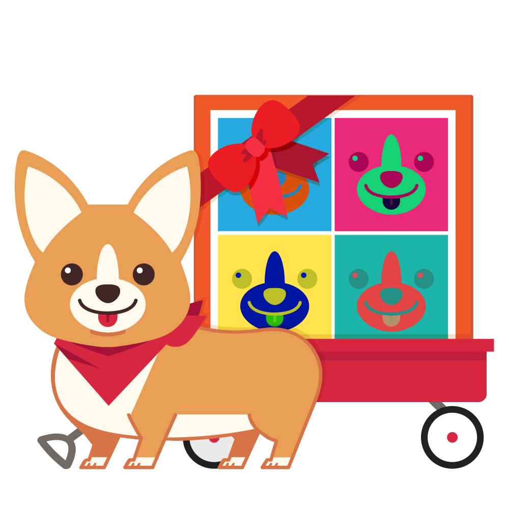 Gift Delivery ArtCorgi