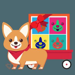 Gift ArtCorgi