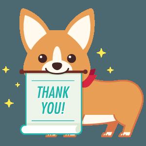 Thank You from ArtCorgi