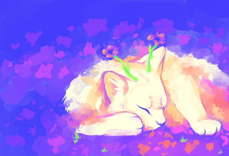 ArtCorgi - Painted pet portraits by Cameron Gantek commission sample