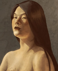 Bust Portrait of a Woman by Stephanie Campbell