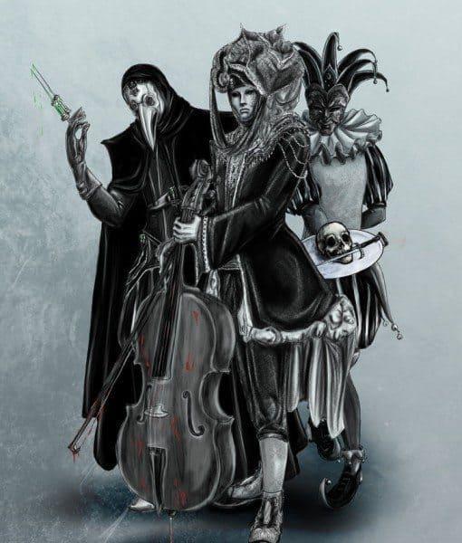 Dangerous Trio by Blacksmiley