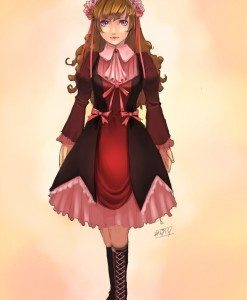 Lolita Girl by Aurora Foo