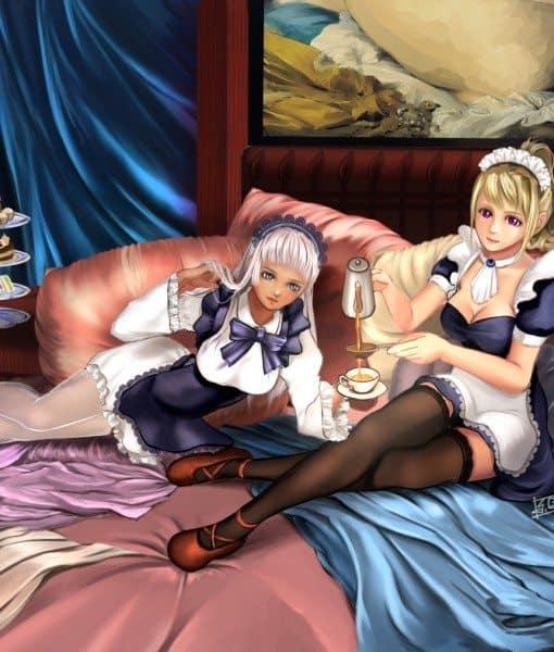 Maids by Aurora Foo