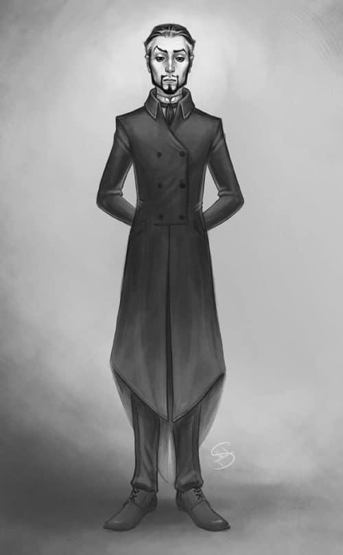 Portrait of a Man by Crespella