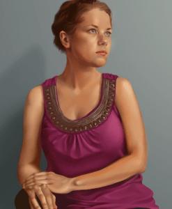 Self Portrait by Stephanie Campbell
