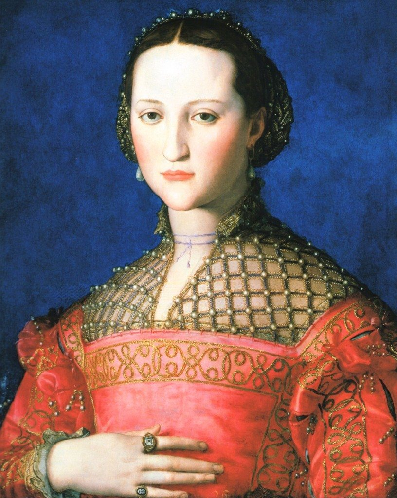 Eleonora di Toledo, a famous Medici and patroness of the arts