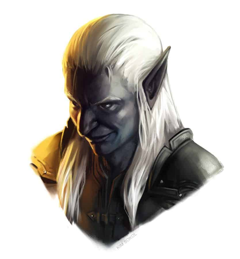 Drow by Kim Sokol