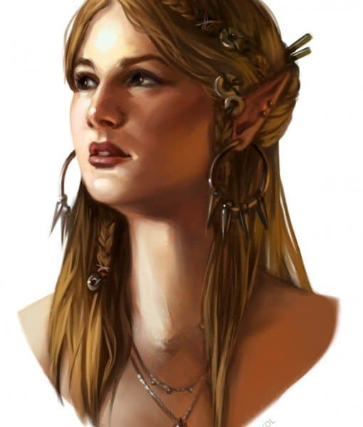 Elf by Kim Sokol