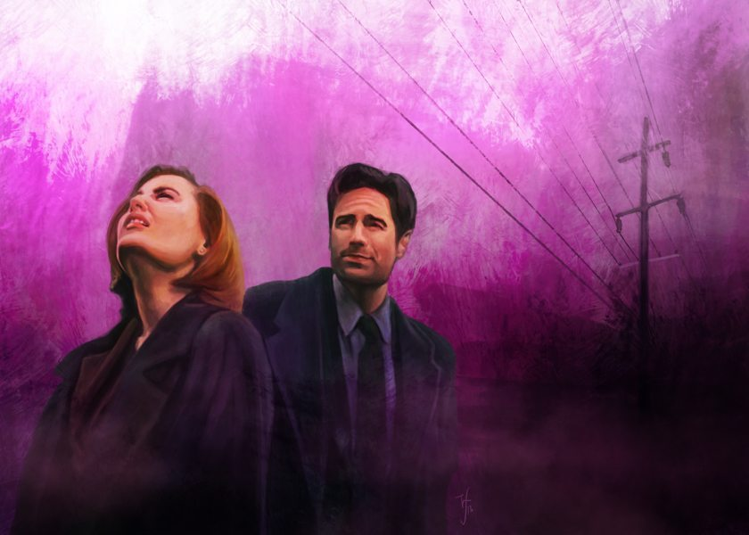 Mulder and Scully by Studio Catawampus