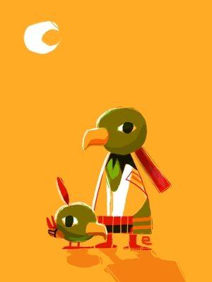 Birds by Louie Zong