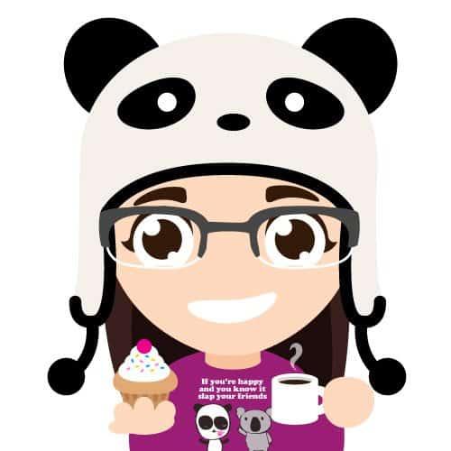 Cupcake Panda Gal by Murphypop