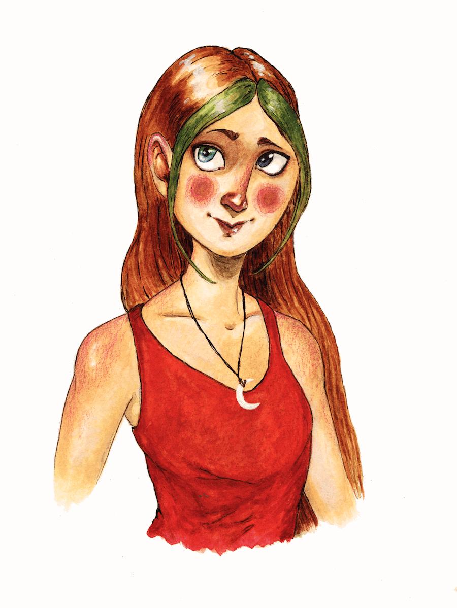 Portrait of a Girl by Lee Dawn