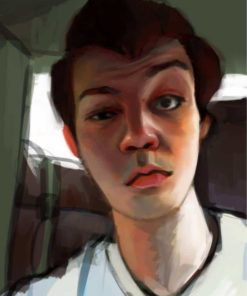 Selfie Style Portrait by Mourphine