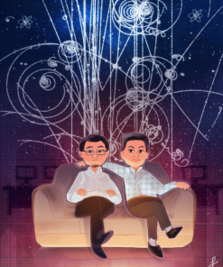 The Physicists by Louie Zong