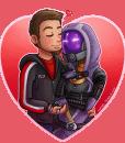 Valentine by Lukael