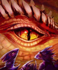 Dragon Eye by iella