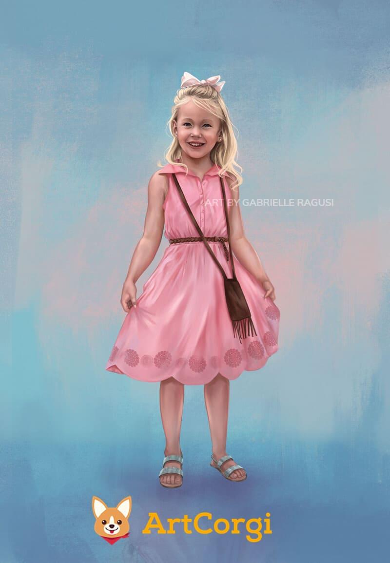 ArtCorgi - Realistic portrait commission by Gabrielle Ragusi
