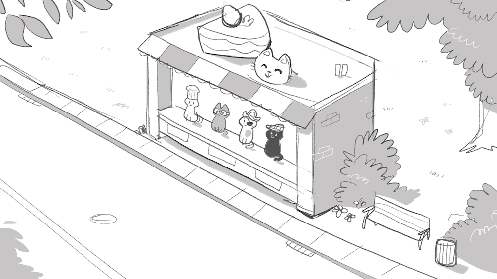 Bakery Storefront Draft by Louie Zong