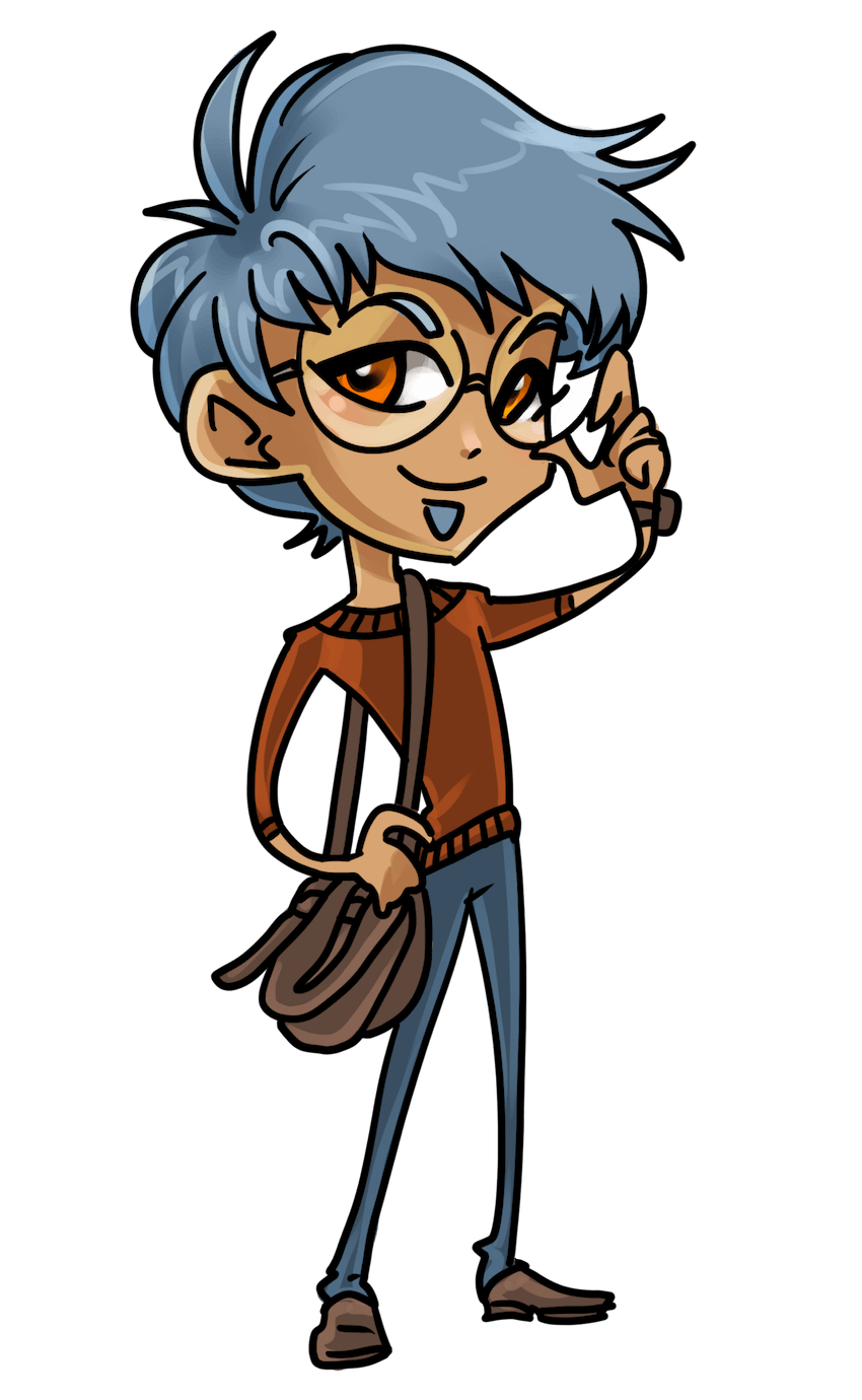 Chibi character sample by Joseph Lee on ArtCorgi