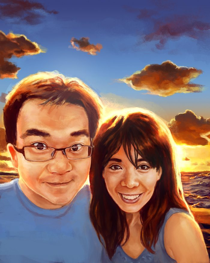 Couples Portrait by Studio Catawampus