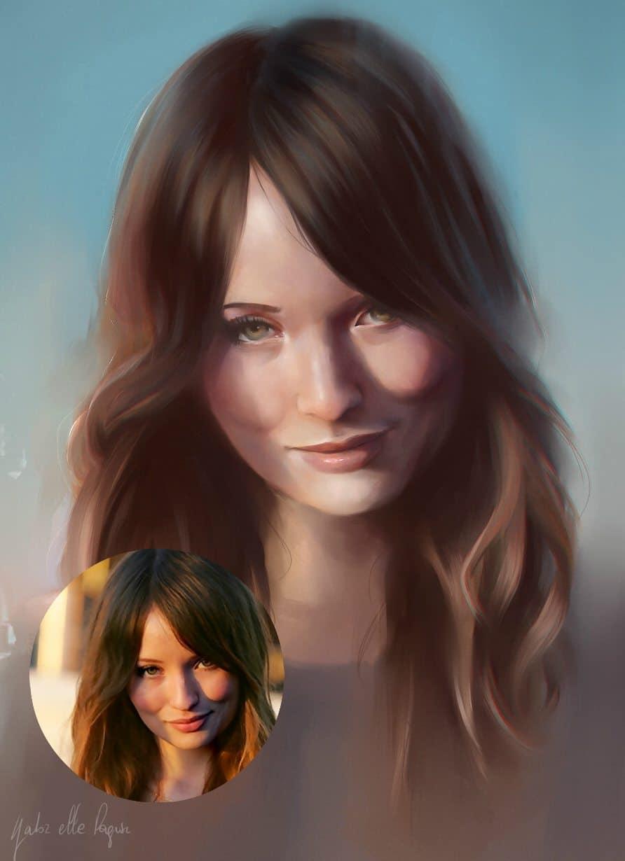 Portrait of a Woman by Gabrielle Ragusi