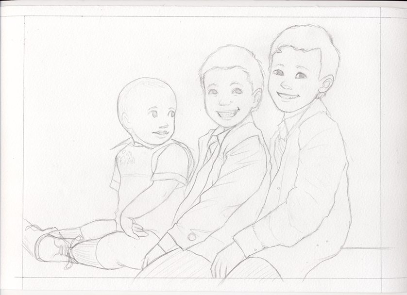 Sketch for Michael by Sumi