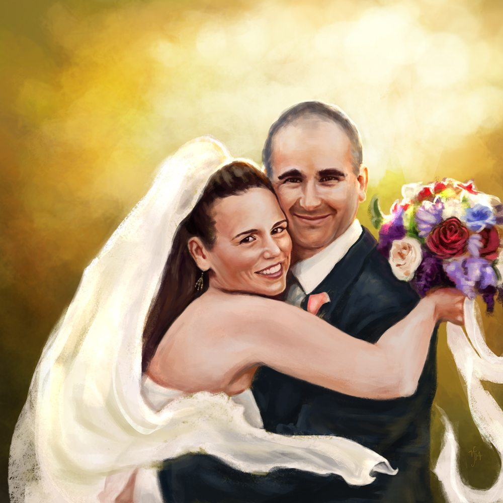 Wedding Portrait by Studio Catawampus