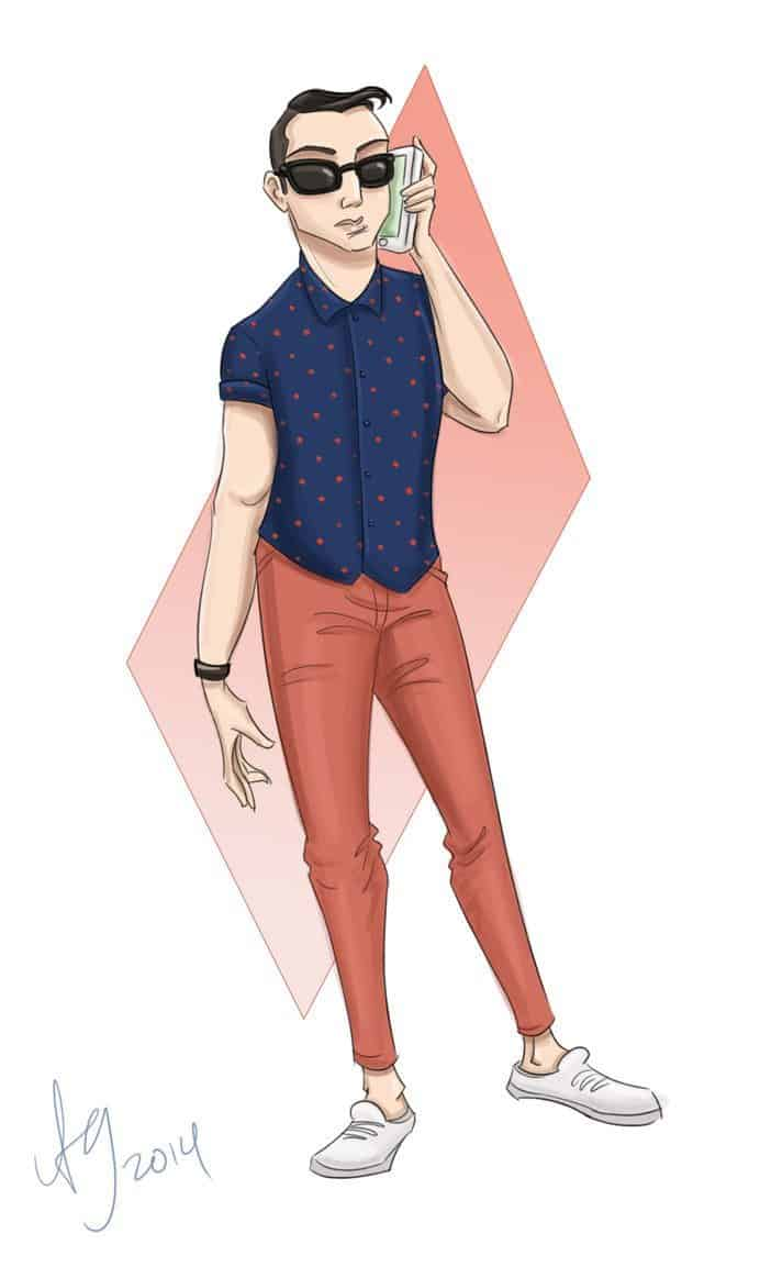Hipster by Drew Graham