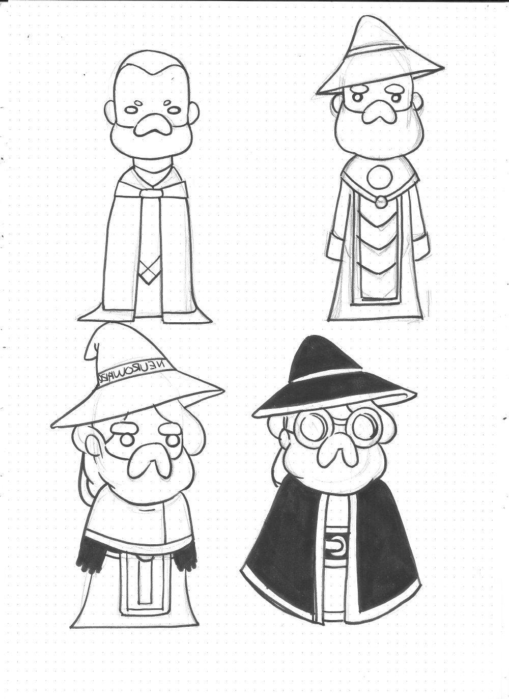 Neuroware Wizard Designs by OracularDream