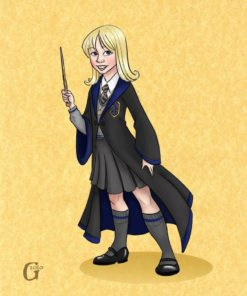 Ravenclaw Lily by Drew Graham