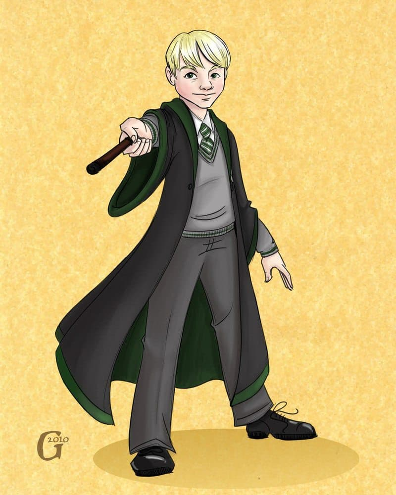 Slytherin Holden by Drew Graham