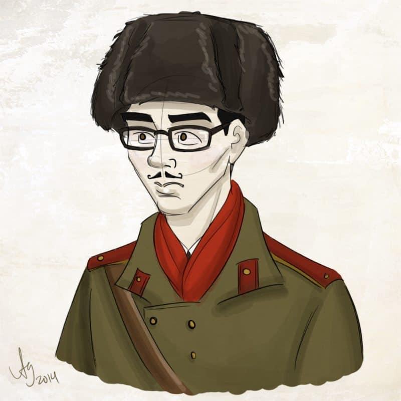 Soviet Student by Drew Graham