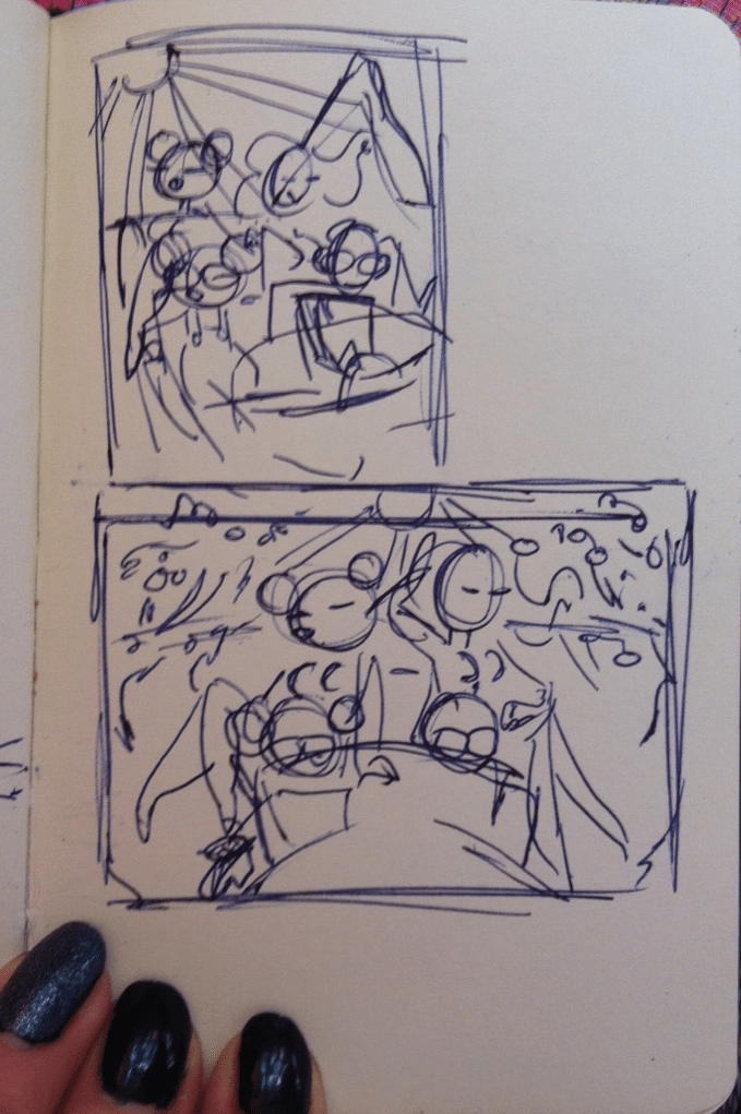 WIP Sketch Thumbnail A by Tuna