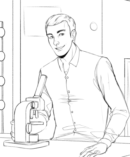 WIP of Fabio in the Lab by Torri