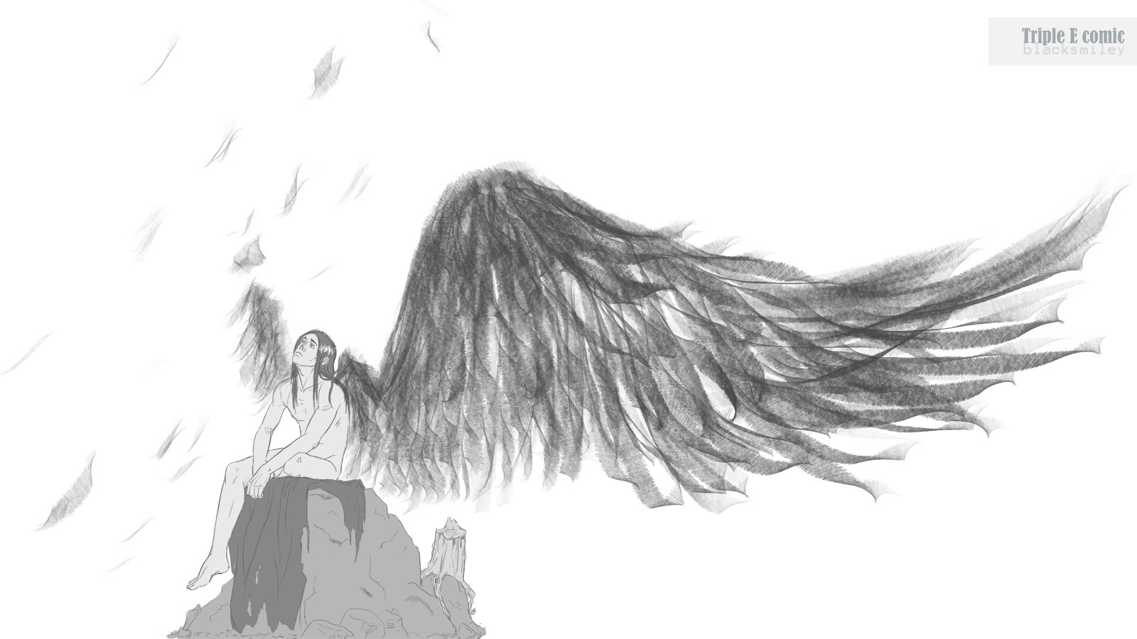 Winged-Character-Sketch-by-Blacksmiley