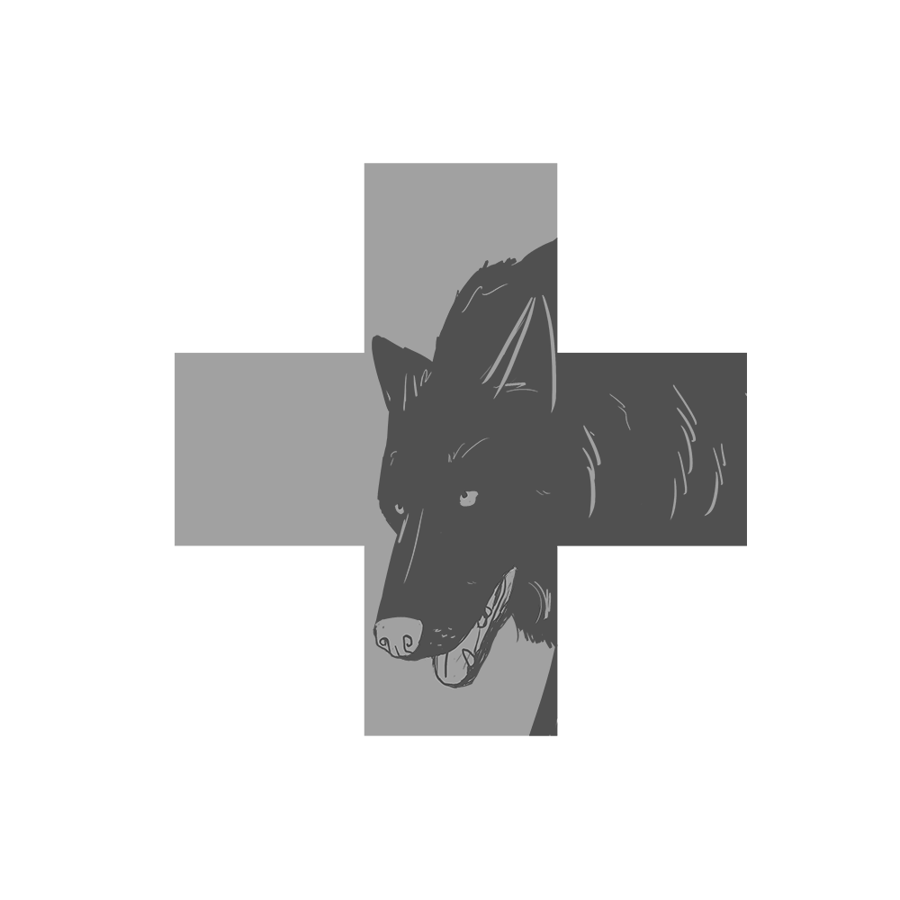 Wolf Medical Care Avatar by Shirley