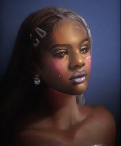 ArtCorgi - Stylized Illustrations by Nell Fallcard - Woman 2