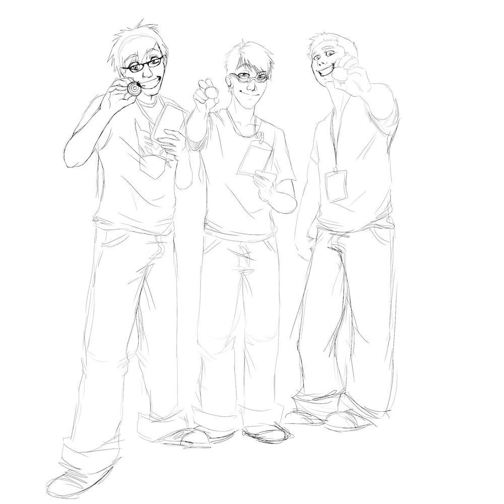 Beyblade Boys WIP by Denitsa Trandeva