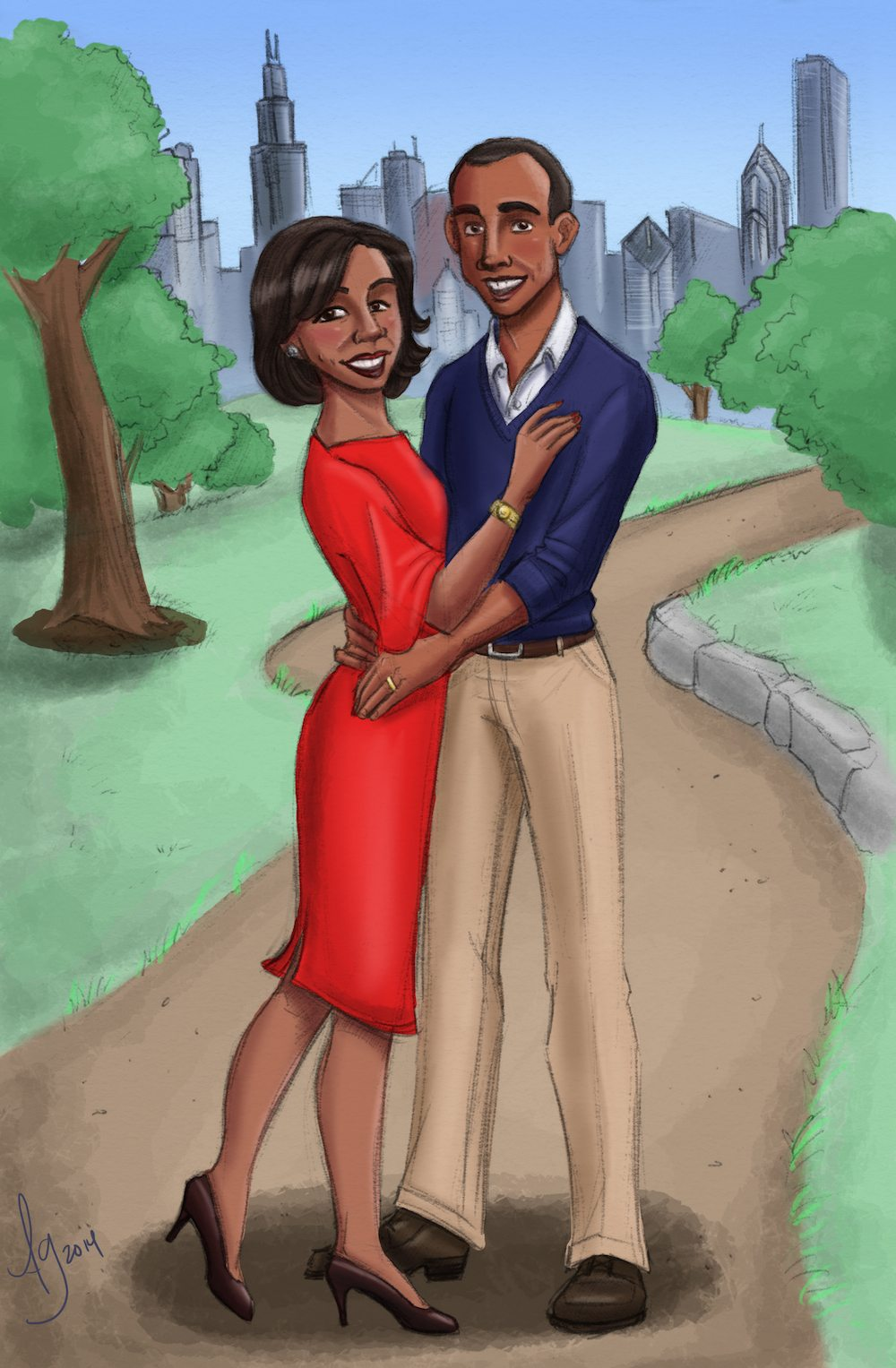 David and Tianna by Drew Graham