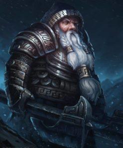 Dwarf Warrior by Bob Kehl