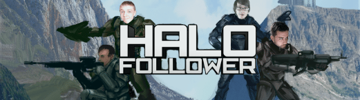 Halo Follower Progress Draft with Logo by TaylorPayton