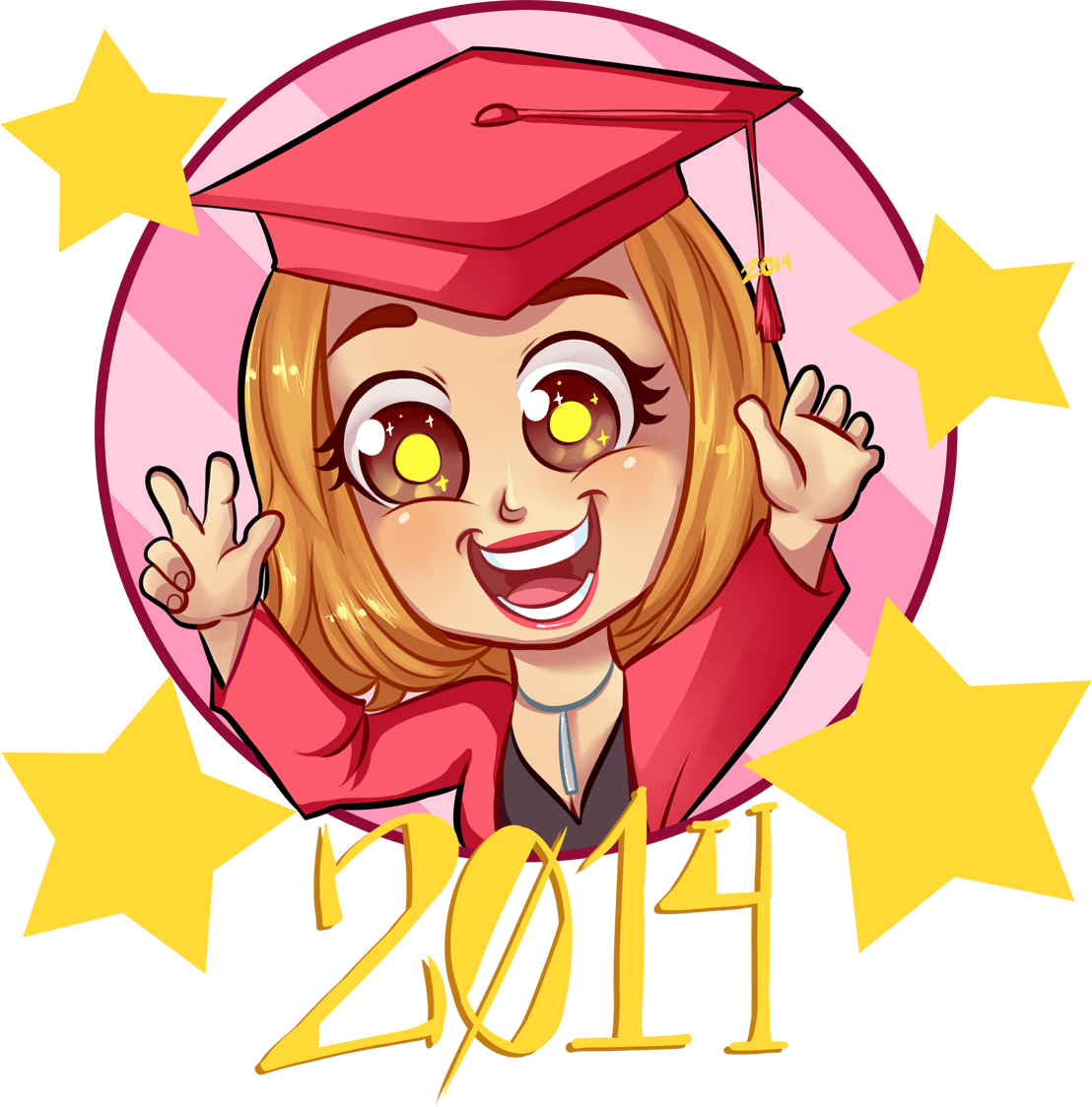 Kaitlyn the Grad by Melanie Duquesne