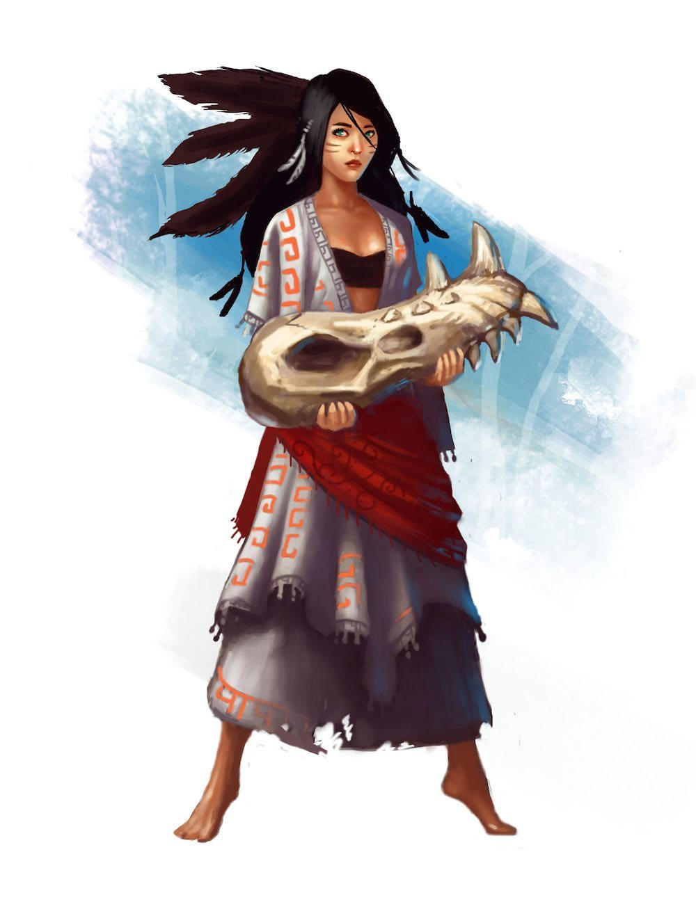 Khasa the Gypsy by Bob Kehl