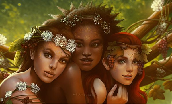 Muses by Nell Fallcard