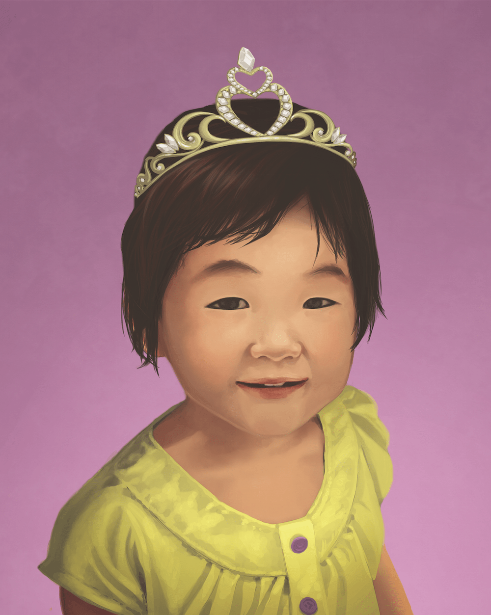 Princess Huong by Stephanie Campbell